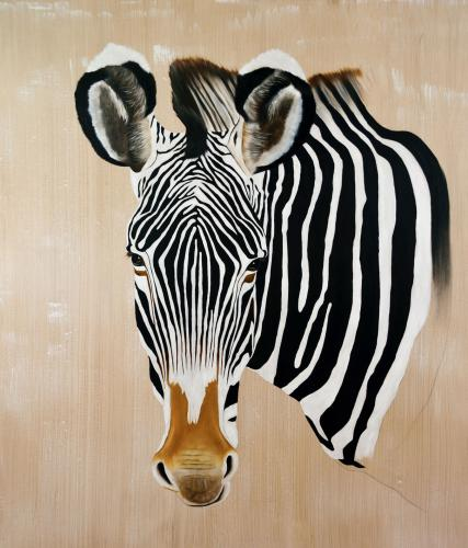 Thierry Bisch Contemporary painter animals painting art decoration nature biodiversity conservation